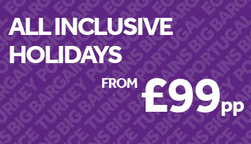 All Inclusive Holidays from £99pp