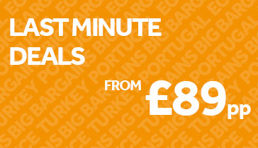 Last Minute Deals from £89pp