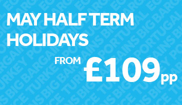 May Half Term Holidays from £109pp