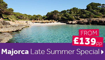 Majorca Late Summer Special