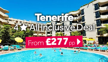 Tenerife 4 Star All Inclusive Deal