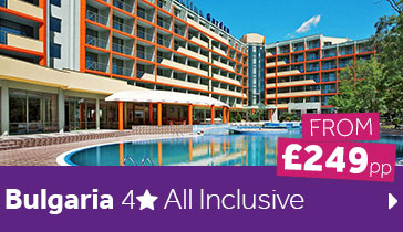 Bulgaria 4 Star All Inclusive