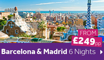 Barcelona & Madrid 6 Nights