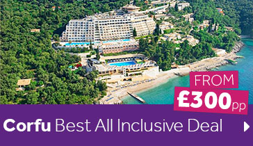 Corfu Best All Inclusive Deal