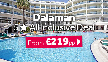 Dalaman 5 Star All Inclusive Deal