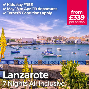 Lanzarote - Kids stay FREE
