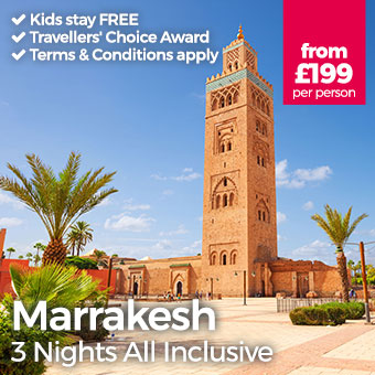 Marrakesh - Kids stay FREE