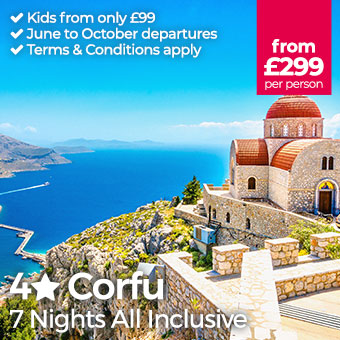 Corfu - Kids from only £99