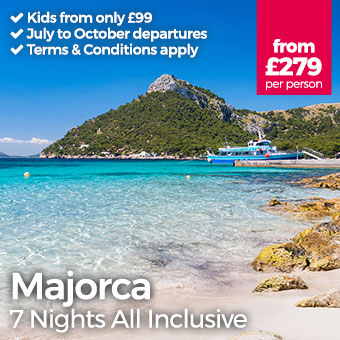 Majorca - Kids from only £99