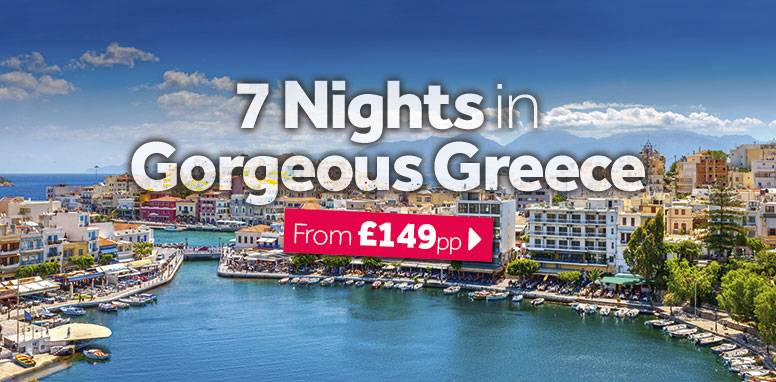 7 Nights in Gorgeous Greece