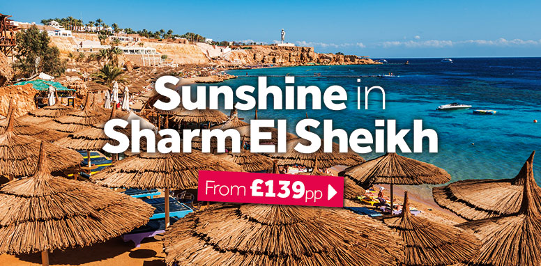 Sunshine in Sharm El Sheikh