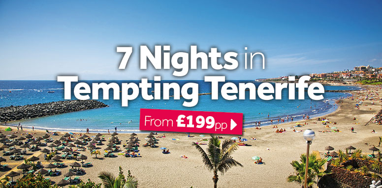 7 Nights in Tempting Tenerife