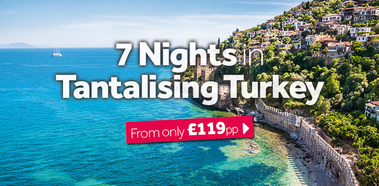 7 Nights in Tantalising Turkey