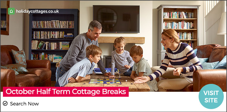 October Half Term Cottage Breaks