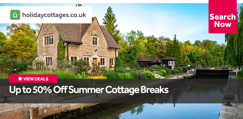Up to 50% Off Summer Cottage Breaks