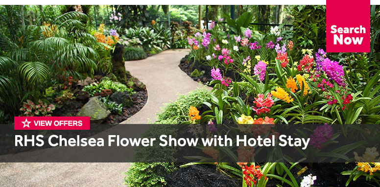 RHS Chelsea Flower Show with Hotel Stay