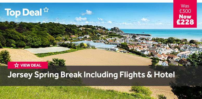 Jersey Spring Break Including Flights and Hotel