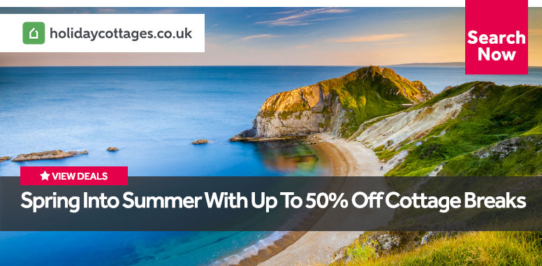 Spring into Summer with up to 50% off Cottage Breaks