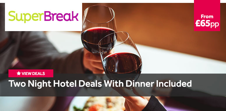 Two Night Hotel Deals with Dinner Included