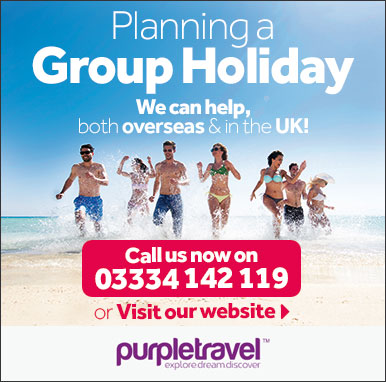 Group Holidays with Purple