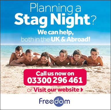 Stag Party Holidays with Freedom