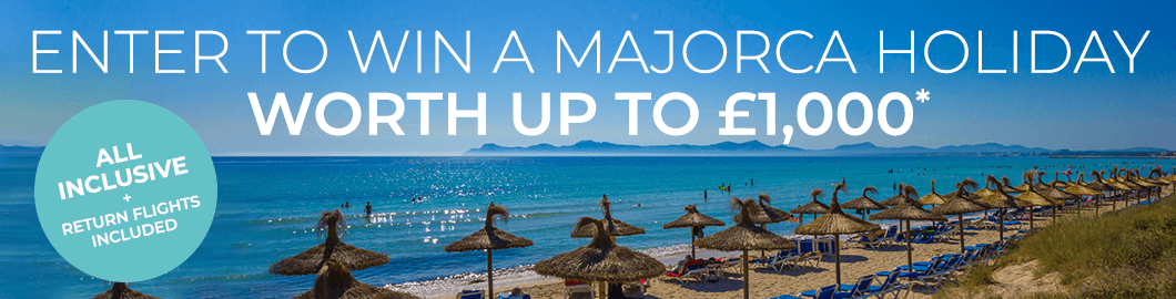 Win A Holiday To Majorca