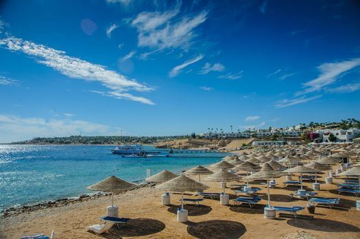 Blue Sea Holidays to Hurghada