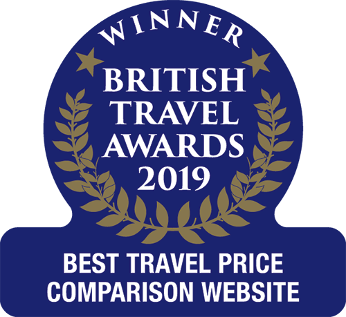 Won 'Best Travel Price Comparison Website' in the British Travel Awards 2019