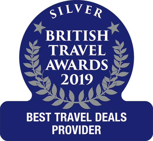Came second for 'Best Travel Deals Provider' in the British Travel Awards 2019