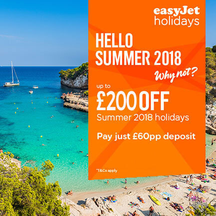 easyJet Summer 2018 Holidays to Tenerife