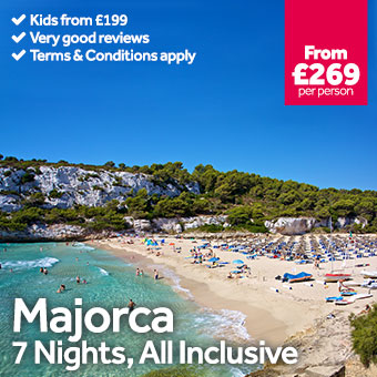 Majorca - 7 Nights All Inclusive