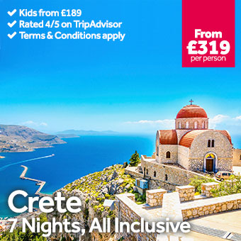Crete - 7 Night All Inclusive